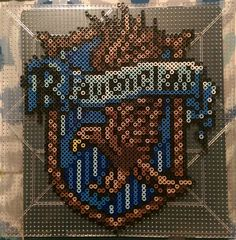 Ravenclaw - Harry Potter perler beads by partly.cloudy.sky