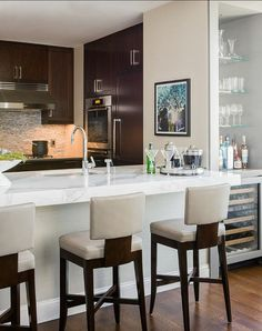 fantastic kitchen with bar