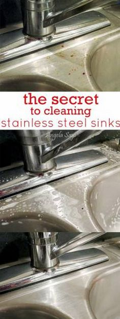 make stainless steel sinks shiny