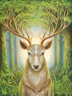 Deer Totem from Hadley Seymore