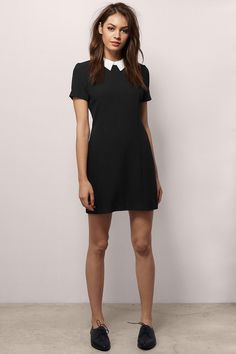 Need this but longer - Wednesday Addams Dress Cute Fashion, Spring Fashion, Fashion Outfits, Fashion Shoes, Wednesday Addams Outfit, Wednesday Adams Costume, Day Dresses, Casual Dresses, Pretty Outfits