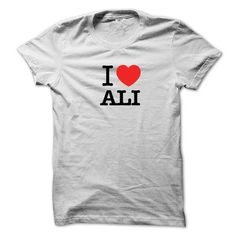 I Love ALI #sunfrogshirt
