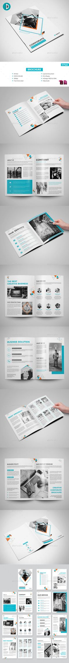 Manual Design Templates Brand Manual #indeisng #brochure  Download ➝ Httpsgraphicriver .
