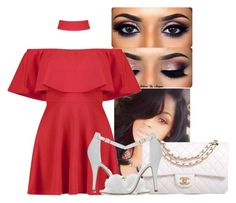 """""""❤️"""" by aaleeyahxpetty ❤ liked on Polyvore featuring Boohoo and Chanel"""