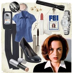 The X-Files - Dana Scully, created by lovepollution on Polyvore