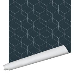 Hex Wallpaper - Traditional / Blue / 2' x 10'