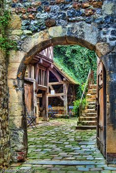 Mill, Le quartier et l'église Sainte-Catherine, Honfleur-Abriendo Puertas
