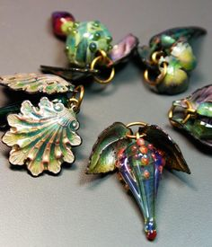 Gail Grossman Moore Enameling - an amazing class.  I want to learn how to do this!