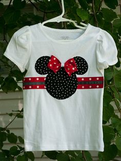 Camiseta decorada - Minnie Mouse