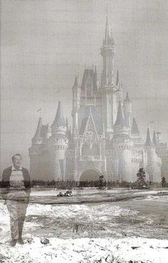 Walt walking his dream...inspired.