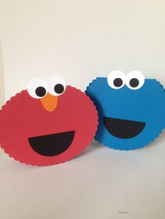 Video tutorial on how to make Monster Face cards with Stampin' Up! supplies by Queen B Creations.  Note: I do not have the marketing rights to Cookie Monster and Elmo, those belong to Sesame Street.