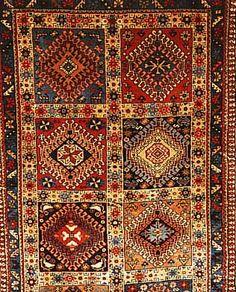 Yalameh,Persien ca 294 x 76 cm. Wolle auf Wolle.