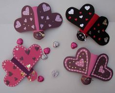 Crack of Dawn Crafts: Valentine Love Bug Flyer Game or Craft
