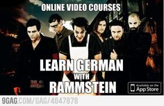Learn German with Rammstein