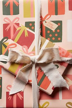 Meta Wrapping Paper anthropologie.com #anthrofave