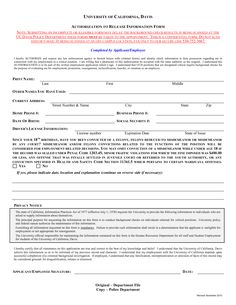 Background Check Consent Form Sample Check Out This
