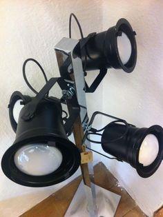 Lámpara decorativa con 4 luces