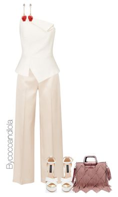 """""""Untitled #92"""" by bycocoandlola ❤ liked on Polyvore featuring The Row, Roland Mouret, Venna and KAROLINA"""