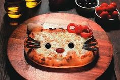 recetas infantiles pizza hello kitty