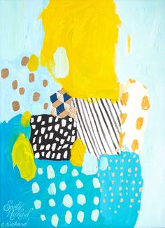 Eternal Optimist, Painting by Emily Rickard via Etsy