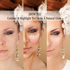 """Step 1: Eye Makeup  Apply your eyeshadow first so if you have any """"powder fall"""" on your face,  you can cleanse with makeup remover before you start on your skin.  And  EEK.... this is me baring my """"naked"""" skin to the world!  Photos byMarcus Edwards Photography  Step 2: Foundation  Apply your primer and foundation as normal. I chose MAC Prep+Prime Skin,  Face+Body Foundation and a BeautyBlender Sponge. It's a light coverage  that evens out your skin and gives your face a base.  Step 3…"""