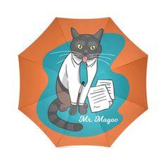 Mr Magoo The Cat Foldable Umbrella Cat Umbrella, Mr Magoo, Cats, Artist, Animals, Collection, Gatos, Animaux, Animales