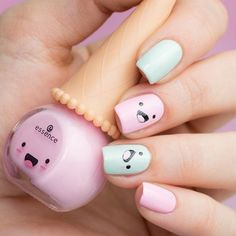 Best Cute Nails Inspiration Arts for Prom (Coffin Nails, Matte Nails) - Page 5 of 70 - Diaror Diary - Trendy Nails - Girls Nail Designs, Pretty Nail Designs, Pretty Nail Art, Cute Nail Art, Cute Acrylic Nails, Nail Art Diy, Acrylic Nail Designs, Cute Nails, Art Designs