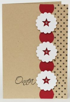 Card ideal for using scraps by melanie