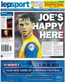 Today's back page 11-07-14