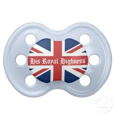 His Royal Highness Blue British Flag Pacifier  http://www.zazzle.com/LaBebba22?rf=238705799563917843