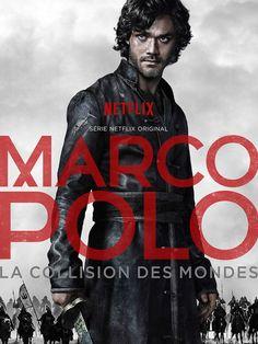 Marco Polo (2014), eine TV-Serie von John Fusco mit Lorenzo Richelmy, Benedict Wong: Serie um die Abenteuer von Weltenbummler Marco Polo (Lorenzo Richelmy), der im China des 13. Jahrhunderts in einen Krieg und dort mitten in politische Ränkespiele gerät. Um sein Leben behalten zu können, muss er sich auf ein Spiel voller Intrigen ...
