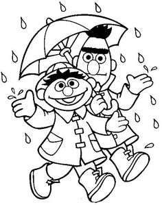 8 Pics of Bert And Ernie Coloring Pages - Bert and Ernie Coloring ...