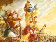 Krishna | Sri Krishna expresses what He wants Arjuna to do, and all other parts ...