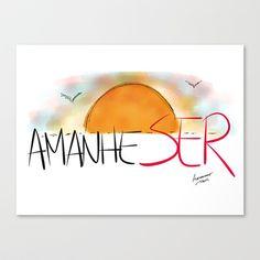 Sunrise Stretched Canvas by Escrevendo e Semeando - $85.00