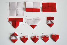 Miglior Origami Tutorial - Origami Cuore-DIY facile Origami Tutorial Projects per con le istruzioni per Fiori, Cane, Confezione regalo, Stella, Gufo, Buttlerfly, Cuore e segnalibro, Animali - Divertimento artigianali di carta per gli adolescenti, bambini e adulti http: // diyprojectsforteens. com / bEST-origami-tutorial