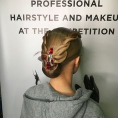 "34 Likes, 2 Comments - Evgeniia Arbuzova (@evgenabuz_style) on Instagram: ""The process of creating beauty. Hairstyle by me#evgenabuzstyle#ballroom #ballroomdance…"""
