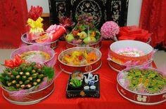 Mâm quả cưới cho ngày lễ truyền thống