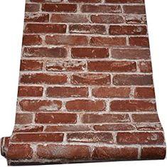 brick wallpaper peel and stick