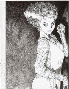 Bride of Frankenstein •Arthur Adams