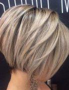 Hottest Short Bob Haircut for Thick Hair - Balayage Short Hairstyles