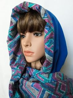 Spring infinity scarf Hooded scarf women cotton cowl by Jousilook Hooded Cowl, Music Festival Outfits, Make Photo, Direct Sales, Winter Accessories, Womens Scarves, Headbands, Fall Outfits, Hoods