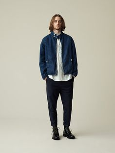 BLUE WORK Look Book