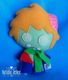 Natália Zelice Artes em Feltro: Toy Art Zumbis: Branca de Neve / Hello Kitty / Pequeno Príncipe