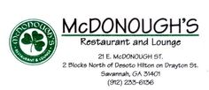 McDonough's Is A Real Bar Busy Bee Vacations