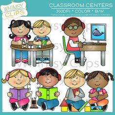 This fun classroom centers clip art pack contains 8 classroom centers. This pack includes 16 image files. There are 8 color images and 8 black & white images in both png and jpg formats. All images are 300dpi for better scaling and printing.