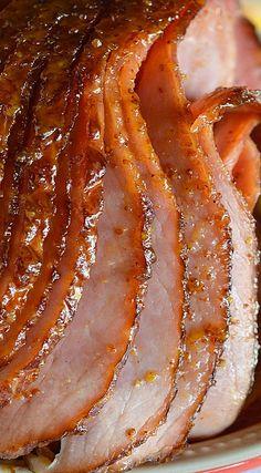 Pineapple Honey Glazed Ham