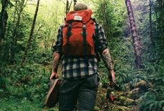 Backpacking--wanna do this for real. Like difficult, miles long, not just a joy hike.