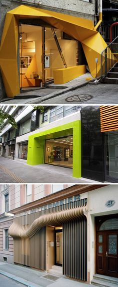 I love these entrances