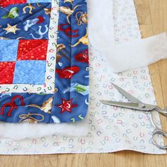 Easy quilting & binding.
