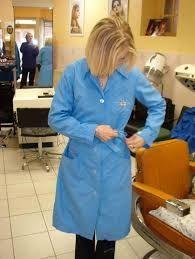 Nylons, Blouse Nylon, Dressers, Slip, Workwear, Hairdresser, Overalls, Beautiful Women, Shirt Dress